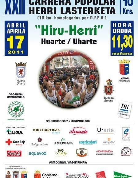 XXII. HIRU HERRI HERRI LASTERKETA
