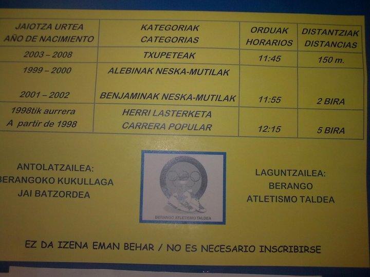 I. BERANGOKO HERRI KROSA