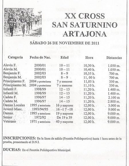 XX. CROSS POPULAR SAN SATURNINO