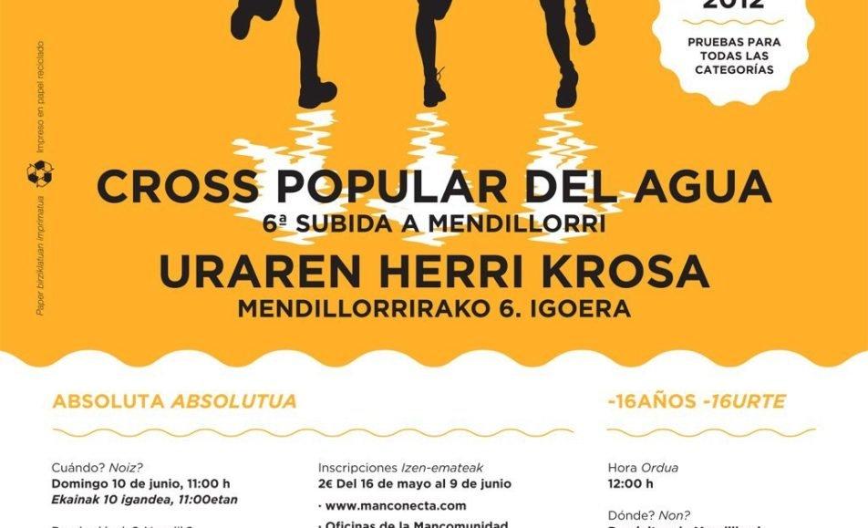 VIII. URAREN HERRI KROSA – CROSS POPULAR DEL AGUA – MENDILORRIRAKO VI. IGOERA