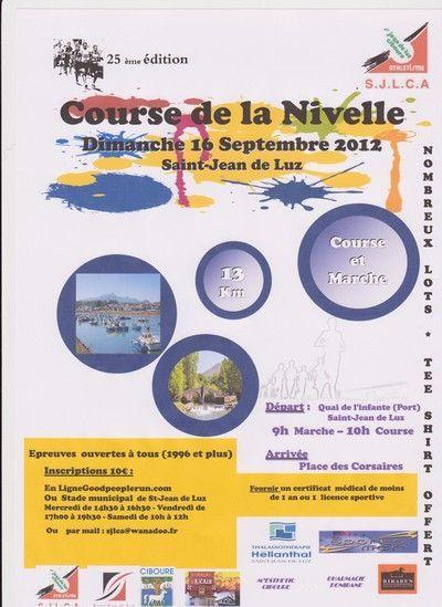 XXV. COURSE DE LA NIVELLE 2012