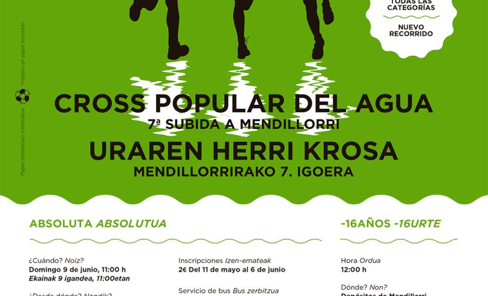 IX. URAREN HERRI KROSA – CROSS POPULAR DEL AGUA – MENDILORRIRAKO VII. IGOERA