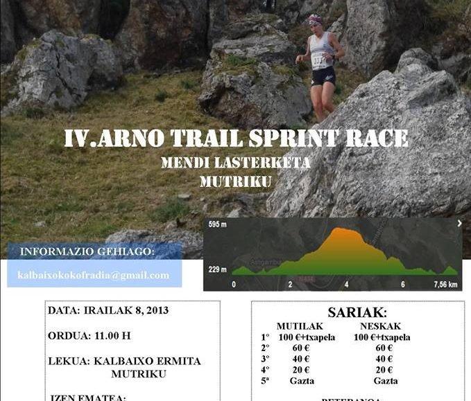 VIII. ARNO TRAIL SPRINT RACE – KALBAIXOKO MENDI LASTERKETA – 2017