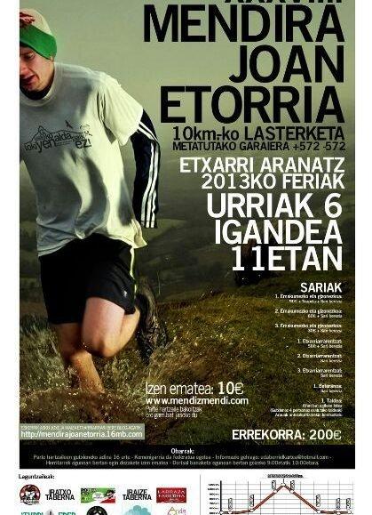 XLI. MENDIRA JOAN-ETORRIA ETXARRI ARANATZ