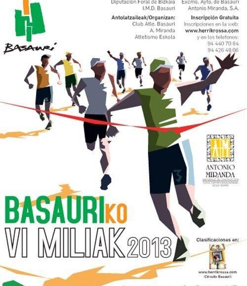 XXX. BASAURIKO 6 MILIAK – 6 MILLAS DE BASAURI – 2017