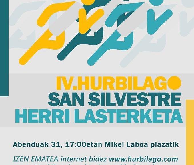 VII. SAN SILVESTRE – USURBIL – HURBILAGO – 2016