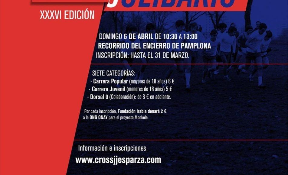 XXXVII. CROSS SOLIDARIO JOSE JOAQUIN ESPARZA