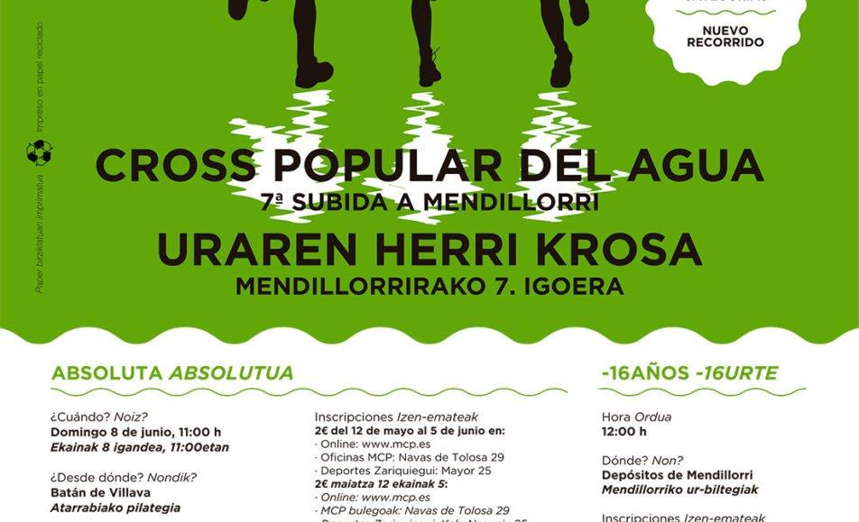X. URAREN HERRI KROSA – CROSS POPULAR DEL AGUA – MENDILORRIRAKO VII. IGOERA