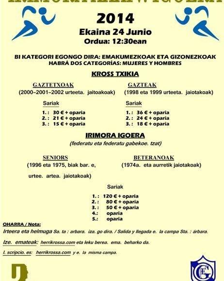 XXXIV. IRIMORA IGOERA