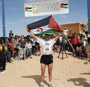 Martín Fiz, lesionado, noveno en el Sáhara