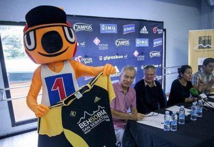 Behobia-Gazte y la mascota Arin, principales novedades para el 50 aniversario