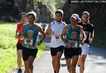 Aritz Kortabarriak irabazi du Ataungo Hiru Auzoetako Korrikaldia