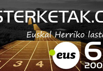 lasterketak.eus - 6 urte - euskal herriko lasterketak - carreras populares
