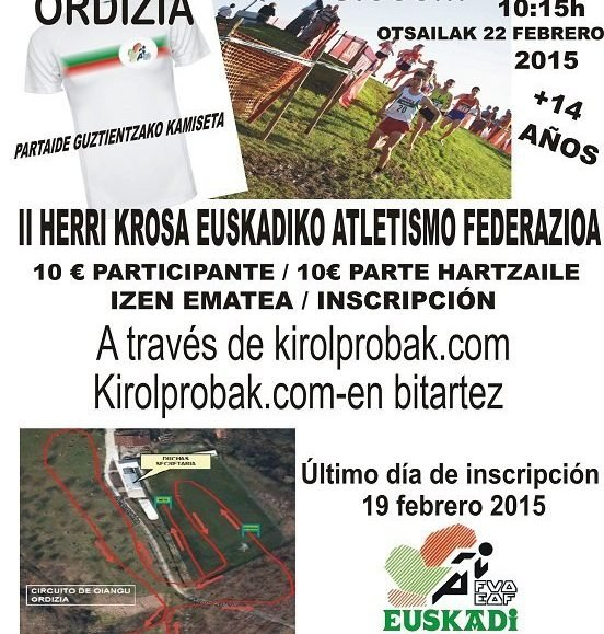 II. CROSS POPULAR FVA / EAF-KO HERRI KROSSA