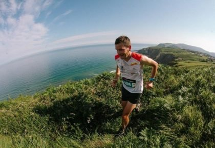 Laura Orgué  y Jonathan Wyatt ganadores de la décima Kosta Trail