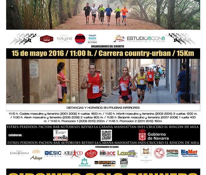 I. 15 KM CORELLA CIUDAD DEL MOSCATEL & PINCHO