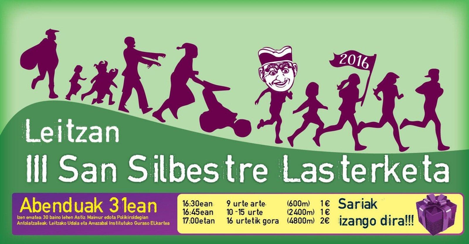 SAN SILVESTRE - LEITZA