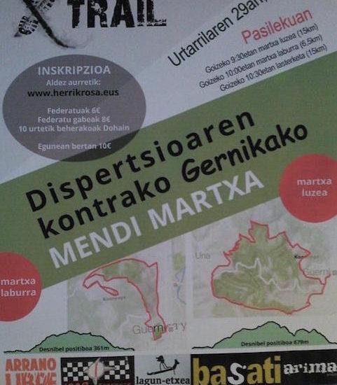 ETXERA TRAIL MENDI LASTERKETA