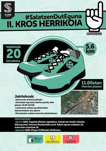 II. AZPEITIKO SARE KROS HERRIKOIA – 2017