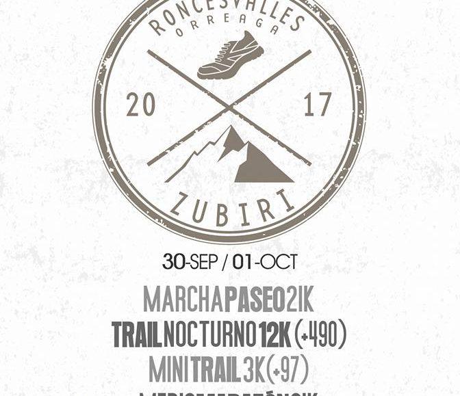 I. TRAIL NOCTURNO RONCESVALLES-ZUBIRI – 2017