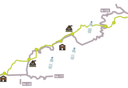 XIII. RONCESVALLES – ZUBIRI por el camino de Santiago – 2018