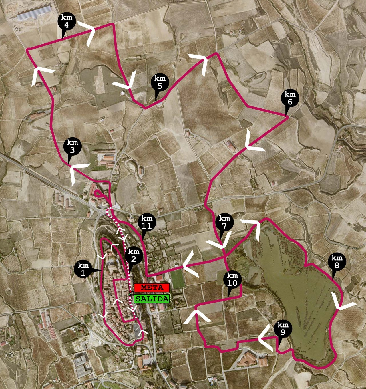 carrera popular laguardia los zaborricos ibilbidea recorrido