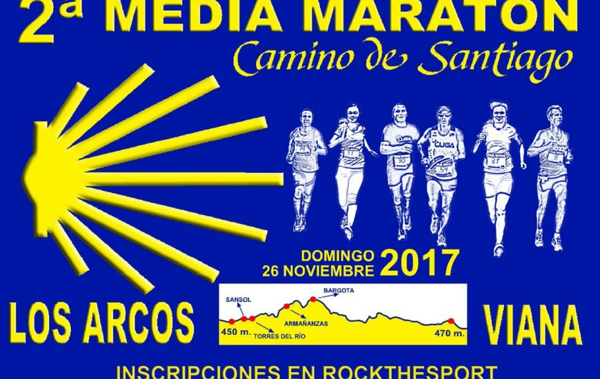 II. MEDIA MARATÓN CAMINO DE SANTIAGO - 2017
