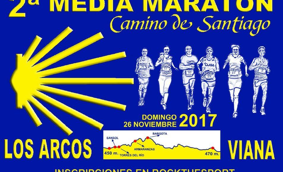 II. MEDIA MARATÓN CAMINO DE SANTIAGO – 2017