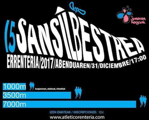 XV. SAN SILVESTRE – ERRENTERIA – 2017