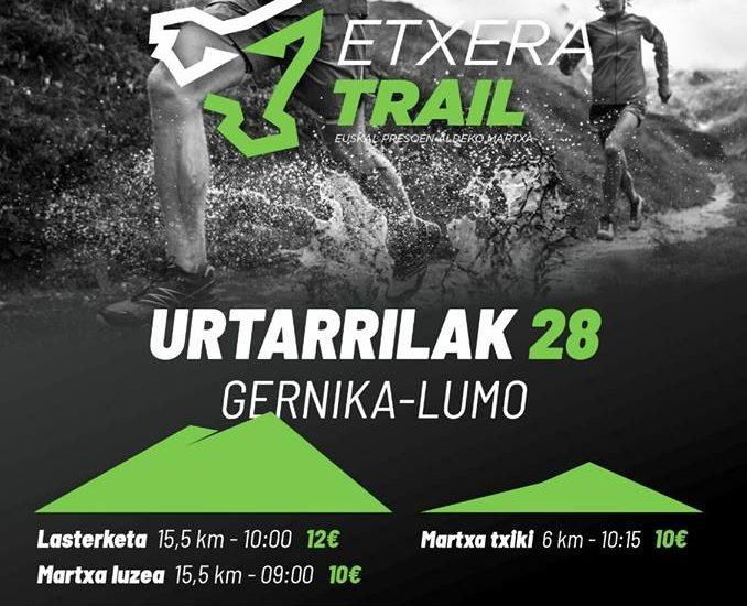 II. ETXERA TRAIL MENDI LASTERKETA - 2018