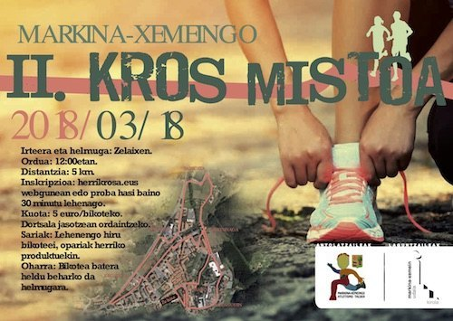 II. MARKINA-XEMEINGO BIKOTEEN KROS MISTOA - 2018