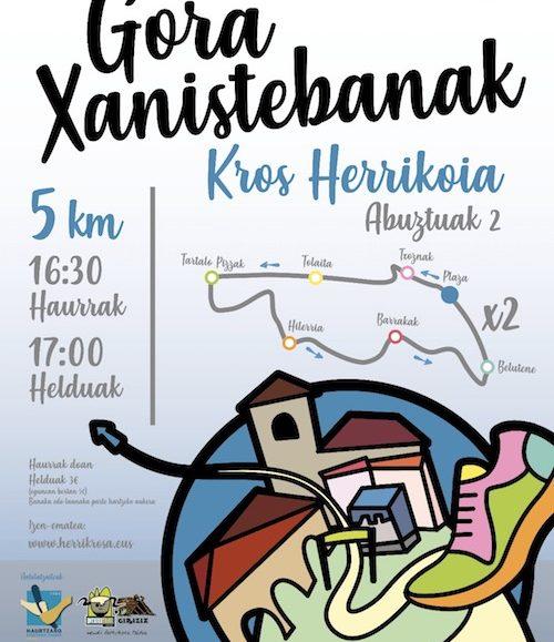 I. GORA XANISTEBANAK KROS HERRIKOIA – 2018