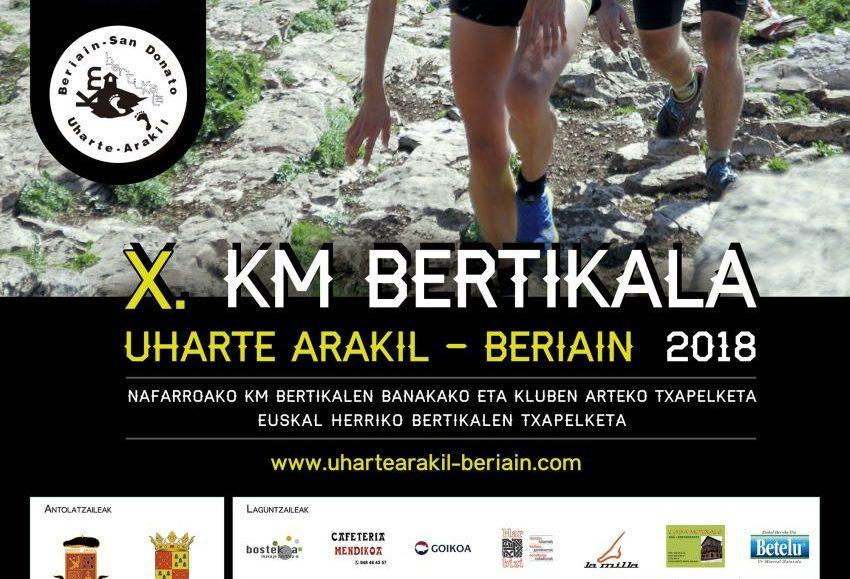 X. UHARTE-ARAKIL – BERIAIN-SAN DONATO KM BERTIKALA – 2018