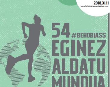 54. BEHOBIA – DONOSTIA – SAN SEBASTIAN – 2018