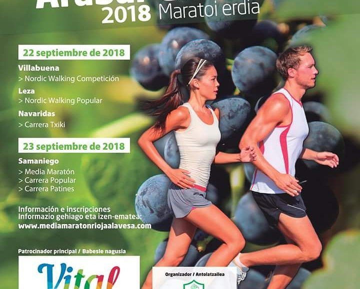 IV. ARABAR ERRIOXAKO MARATOI ERDIA – LA MEDIA DE RIOJA ALAVESA – 2018