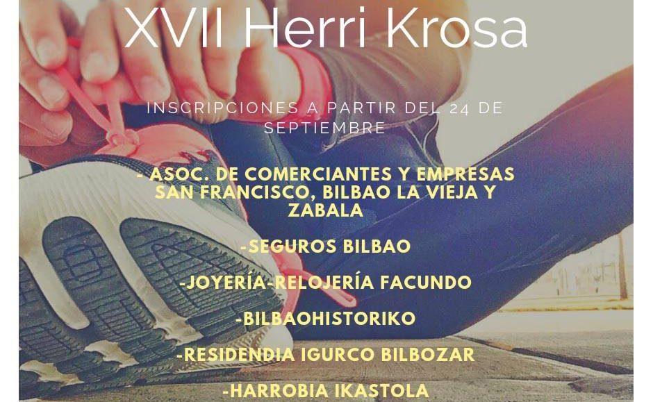 XVII. CROSS POPULAR BILBAO LA VIEJA – BILBO ZAHARRA HERRI KROSA – 2018