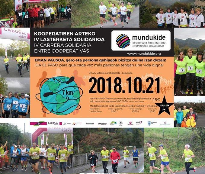 IV. KOOPERATIBEN ARTEKO MUNDUKIDE LASTERKETA SOLIDARIOA – 2018