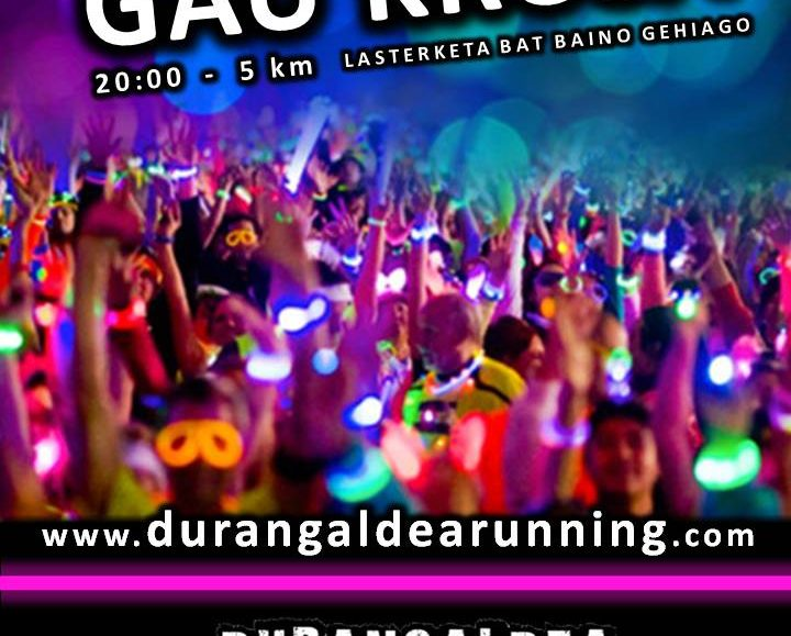 "IV. NIGHT URBAN RACE ""DURANGOko GAU KROSA"" – 2018"