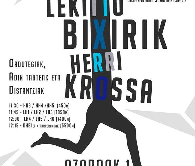 XI. LEKITTO BIXIRIK HERRI KROSA – 2018
