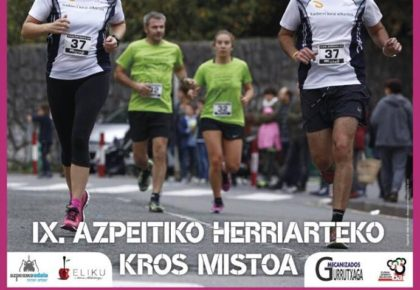 IX. AZPEITIKO HERRIARTEKO KROS MISTOA – 2018
