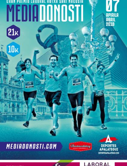 Calendario Laboral Donostia 2019.Xiv Donostiako Erdi Maratoia Media Maraton San Sebastian 2019
