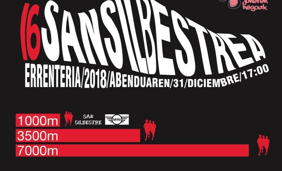 XVI. SAN SILVESTRE – ERRENTERIA – 2018