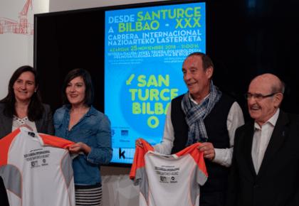 [NAIZ] La 'Desde Santurce a Bilbao' cumplirá su trigésima edición con 3.500 atletas