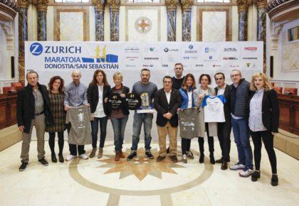 Presentación de la 41ª edición de la Zurich Donostiako Maratoia. La maratón de todos y todas.