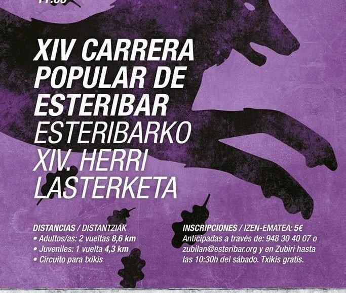 XIV. ESTERIBARKO HERRI LASTERKETA – 2018