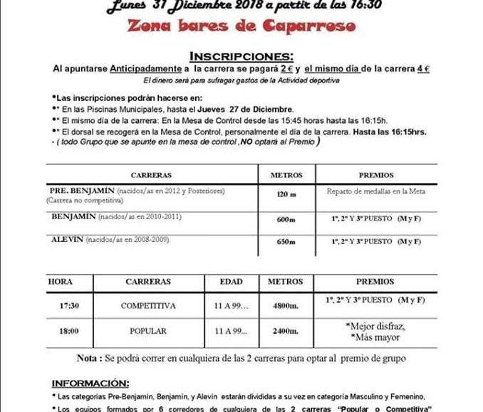 IX. SAN SILVESTRE – CAPARROSO – 2018