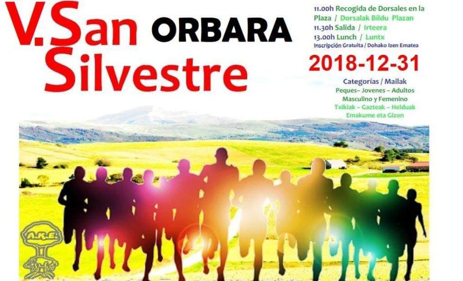 V. SAN SILVESTRE – ORBARA – 2018
