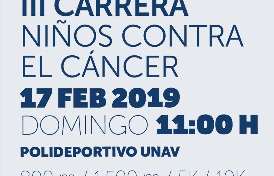 III. CARRERA NIÑ@S CONTRA EL CANCER – LA CARRERA DE L@S VALIENTES – 2019