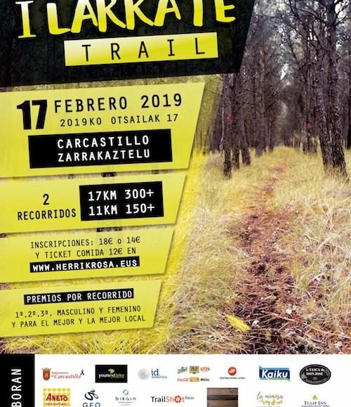 I. LARRATE TRAIL – 2019