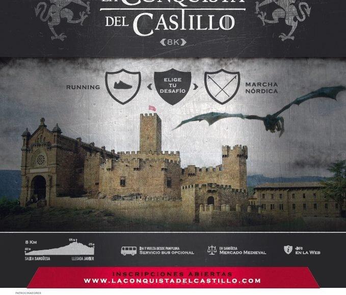 III. LA CONQUISTA DEL CASTILLO – SANGÜESA /  JAVIER – 2019
